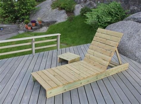 Garden Lounger Side Table Yourself Home