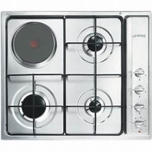 Plaque De Cuisson Mixte Gaz Electrique : smeg table cuisson mixte gaz electrique s63s s 63 s inox ~ Melissatoandfro.com Idées de Décoration