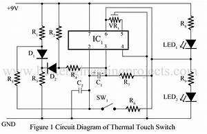 Thermal Touch Switch Using Op