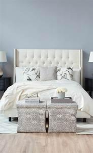 Lit Baroque Blanc : 0 joli lit captionn e lit baroque avec tete de lit blanc captionnee pour la chambre a coucher ~ Teatrodelosmanantiales.com Idées de Décoration