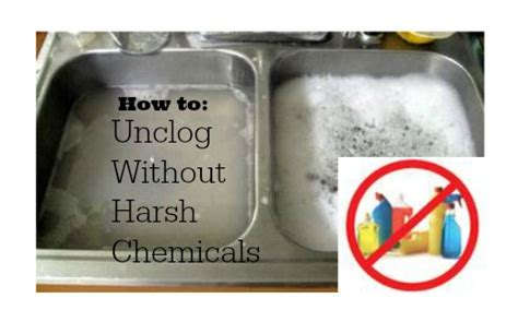 how do you unclog a sink drain quick tip unclog a drain without harsh chemicals