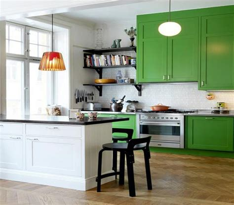 green kitchen colors come rinnovare la cucina in modo economico ideare casa 1398