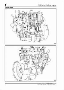 Perkins 1100 Series Engine Service Repair Manual