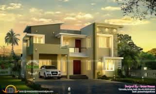 contemporary modern house modern house view kerala home design and floor plans