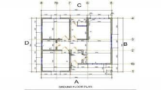 colonial floor plan concrete foundation plans simple building foundation plan