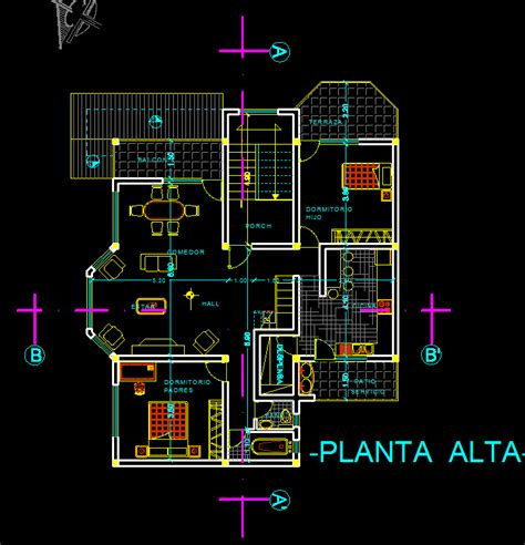terraced houses  garage  dwg plan  autocad designs cad
