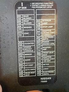 2008 Infiniti Qx56 Fuse Box Location