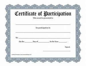 Certificate Of Participation Template Free Best 25 Award Certificates Ideas On Pinterest Award Template Award Templates Free And Free