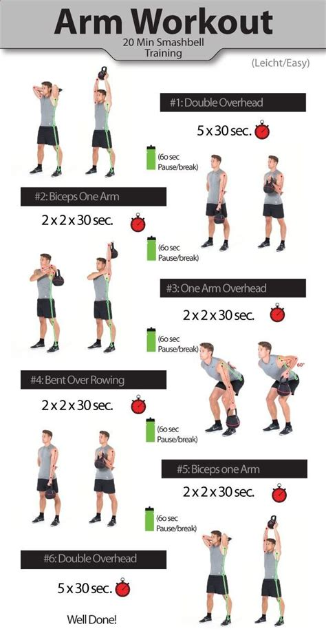 workout arm kettlebell arms workouts exercise exercises bigger biceps body