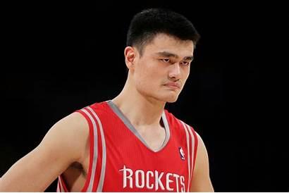 Ming Yao Basketball Nba Rockets Houston Los