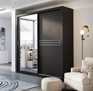 Kleiderschrank Schwarz Weiß : kleiderschrank schwarz mit spiegel deutsche dekor 2017 online kaufen ~ Orissabook.com Haus und Dekorationen