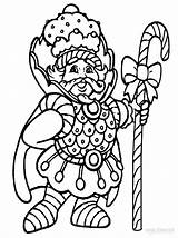 Candyland Coloring Pages Gloppy Printable Cool2bkids sketch template