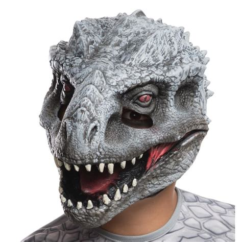 mascara jurassic park  mundo dos dinossauros indomirus