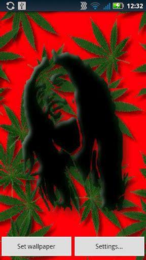 bob marley falling weed  wallpaper apk