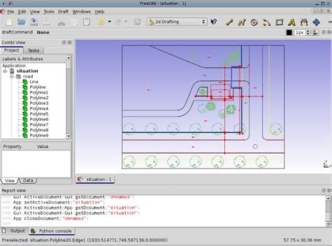 draft tutorial freecad documentation