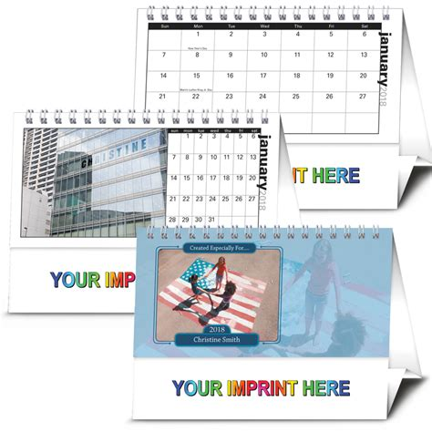 on your desk word whizzle 2018 your name here desk calendar 6 quot w x 4 1 2 quot h desktop