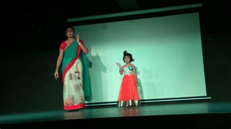 parent  child dance competition vydehi school