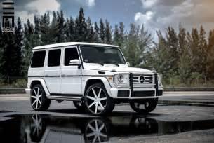 Mercedes G550 Custom Wheels