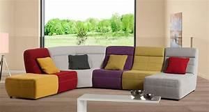 Canapé Chauffeuse Modulable : canap s modernes le geant du meuble ~ Teatrodelosmanantiales.com Idées de Décoration