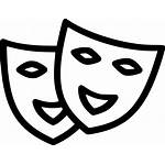 Fun Icon Mask Svg Interesting Identical Entertainment