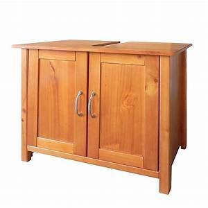Badschrank Holz Massiv : waschbeckenunterschrank massivholz kiefer badschrank ~ A.2002-acura-tl-radio.info Haus und Dekorationen