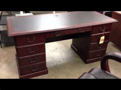 Sauder Heritage Hill Executive Desk Cherry by Sauder Heritage Hill Executive Desk Outlet Sale In Miami