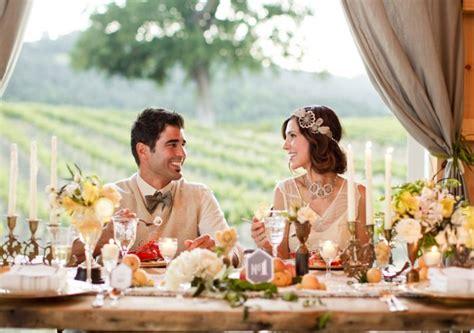 Glamorous Great Gatsby Wedding Inspiration