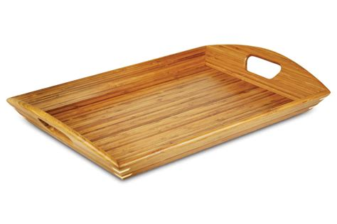 totally bamboo bamboo serving tray  cutlery