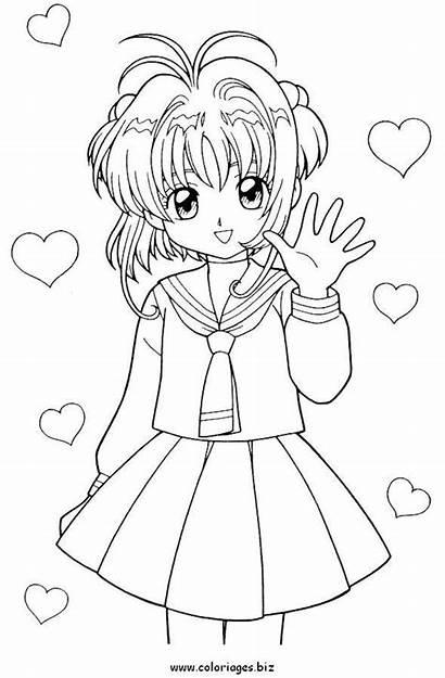 Manga Coloriage Coloriages Sarai Adore Faire