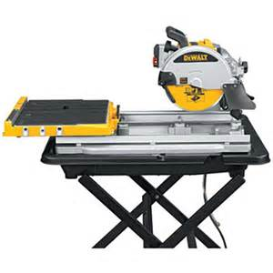 dewalt d24000s 10 quot tile saw with stand