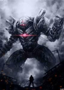 Soldier vs Robot by Ku-On on DeviantArt