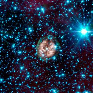 News | A Ghostly Trio from NASA's Spitzer Space Telescope