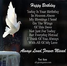 Best Happy Birthday in Heaven - ideas and images on Bing ...
