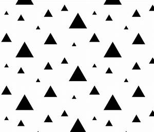 Large Black and White Triangles wallpaper - sierra ...