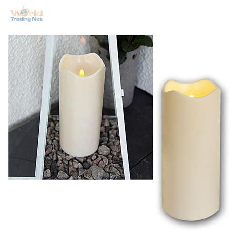 led kerzen outdoor led kerze f 252 r au 223 en mit timer flackernde flammenlose kerzen flackernd outdoor ebay