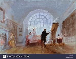 Alle Sitzmöbel In Einem Raum : joseph mallord william turner k nstler malerei in einem raum 1828 stockfoto bild 145382084 ~ Bigdaddyawards.com Haus und Dekorationen