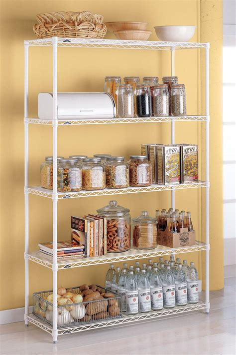 kitchen cabinet shelving racks 20 best pantry organizers hgtv
