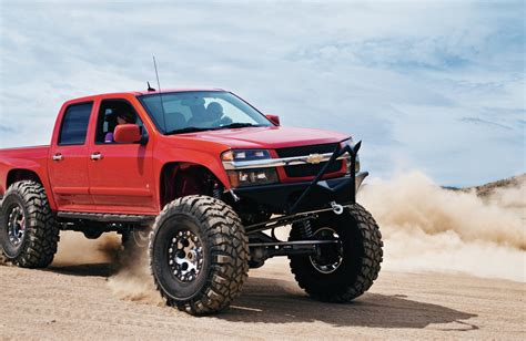 lifted gmc red gmc canyon lifted red www pixshark com images