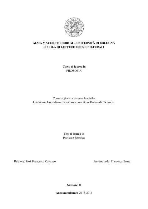Scuola Di Lettere Bologna by Alma Mater Studiorum Universit 192 Di Bologna Scuola Di