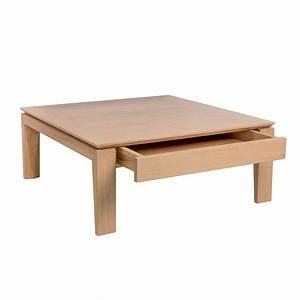 Table Tres Basse : table basse carr e modulable en c ramique et bois ~ Teatrodelosmanantiales.com Idées de Décoration