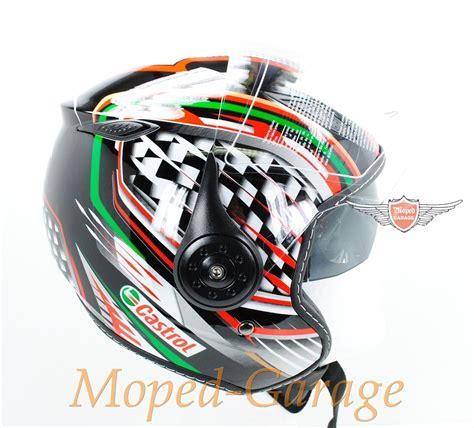 Mopedgaragenet  Mofa Moped Chopper Motorrad Jet Helm