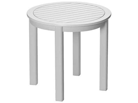 telescope casual marine grade polymer 21 end table