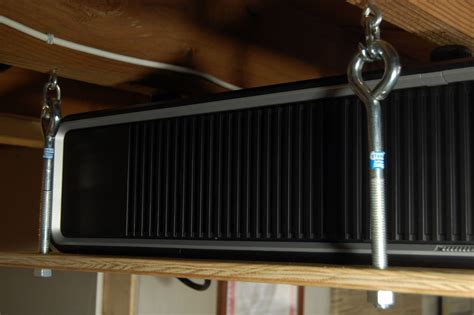 diy  quick  dirty  projector ceiling mount