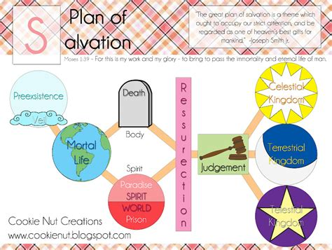cookie nut creations plan  salvation diagram