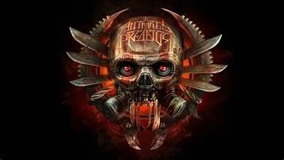 Predator Skull 3d Skulls Eye Antares Wallpapers