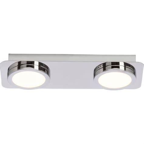 badezimmer led deckenleuchte ip44 badezimmer led deckenleuchte ip44 spritzwassergesch 252 tzt 2x 5w led integriert 2x 380 lumen