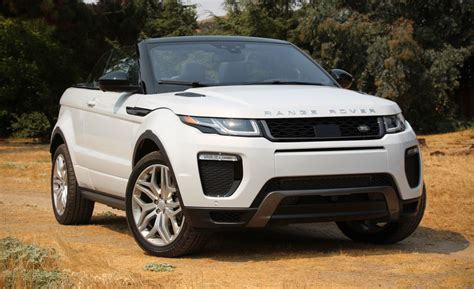 Land Rover Car : 2017 Land Rover Range Rover Evoque Convertible Test