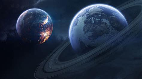 wallpaper saturn planet rings  saturn  space