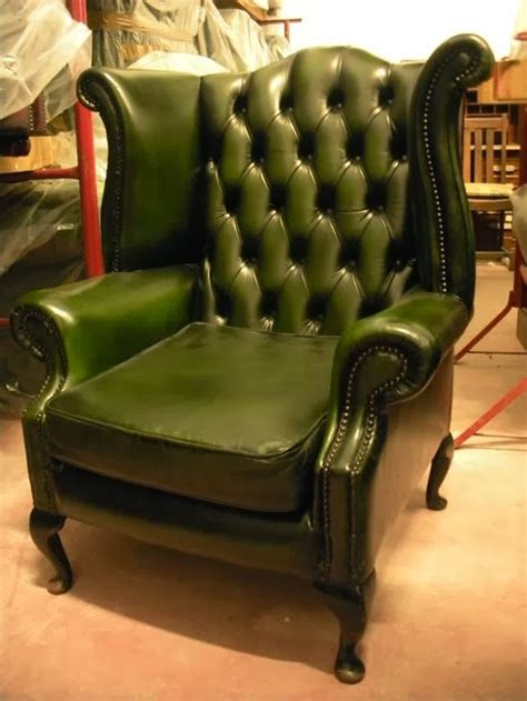 poltrone in pelle usate poltrone chesterfield usate vintage