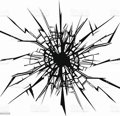 Crack Glass Clipart Cracked Cracks Abstract Window